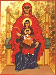 Jesus, Mary & Anna