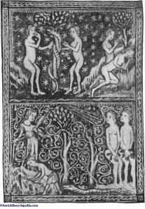 Adam and Eve manuscript